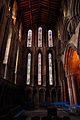 Stained glass window at the side of Hexham Abbey - panoramio.jpg