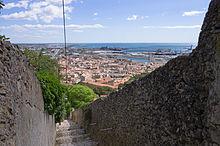 Stairs, Chemin du Mas Rousson, Sète, Hérault 03.jpg