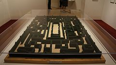 Stanley Kubrick The Exhibition - LACMA - Shining - Maze model (8999706250).jpg