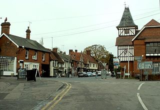 Stansted Mountfitchet village in Essex, England