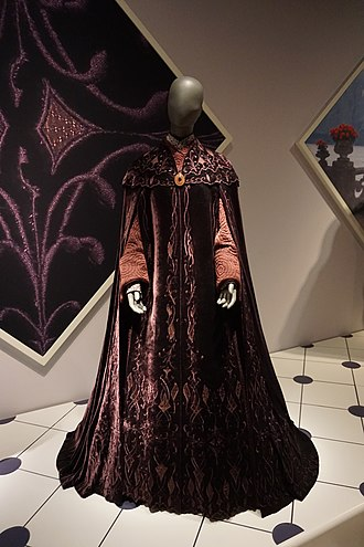 Padmé Amidala - Padmé Amidala's veranda sunset gown from Episode III