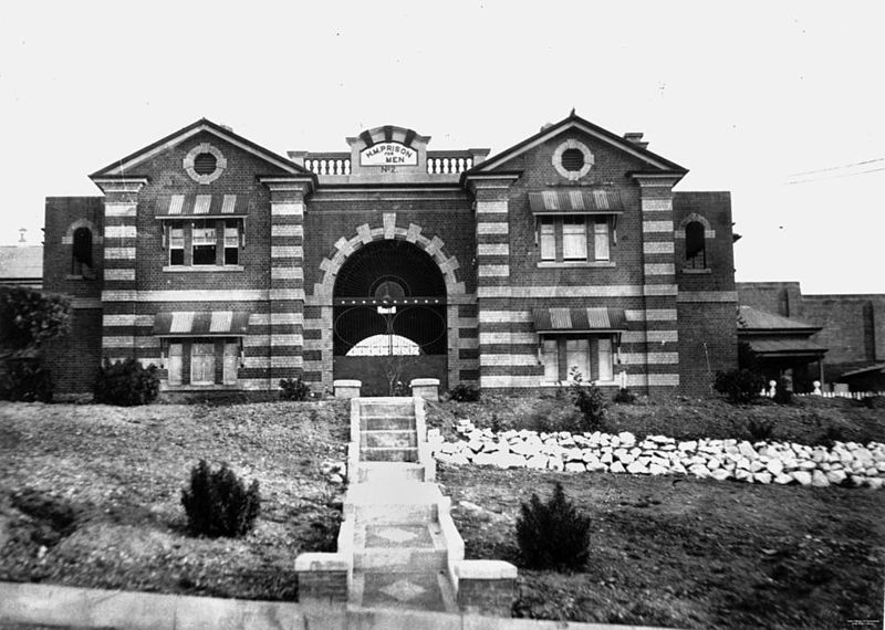 File:StateLibQld 1 111256 Entrance to Boggo Road Gaol, ca. 1936.jpg