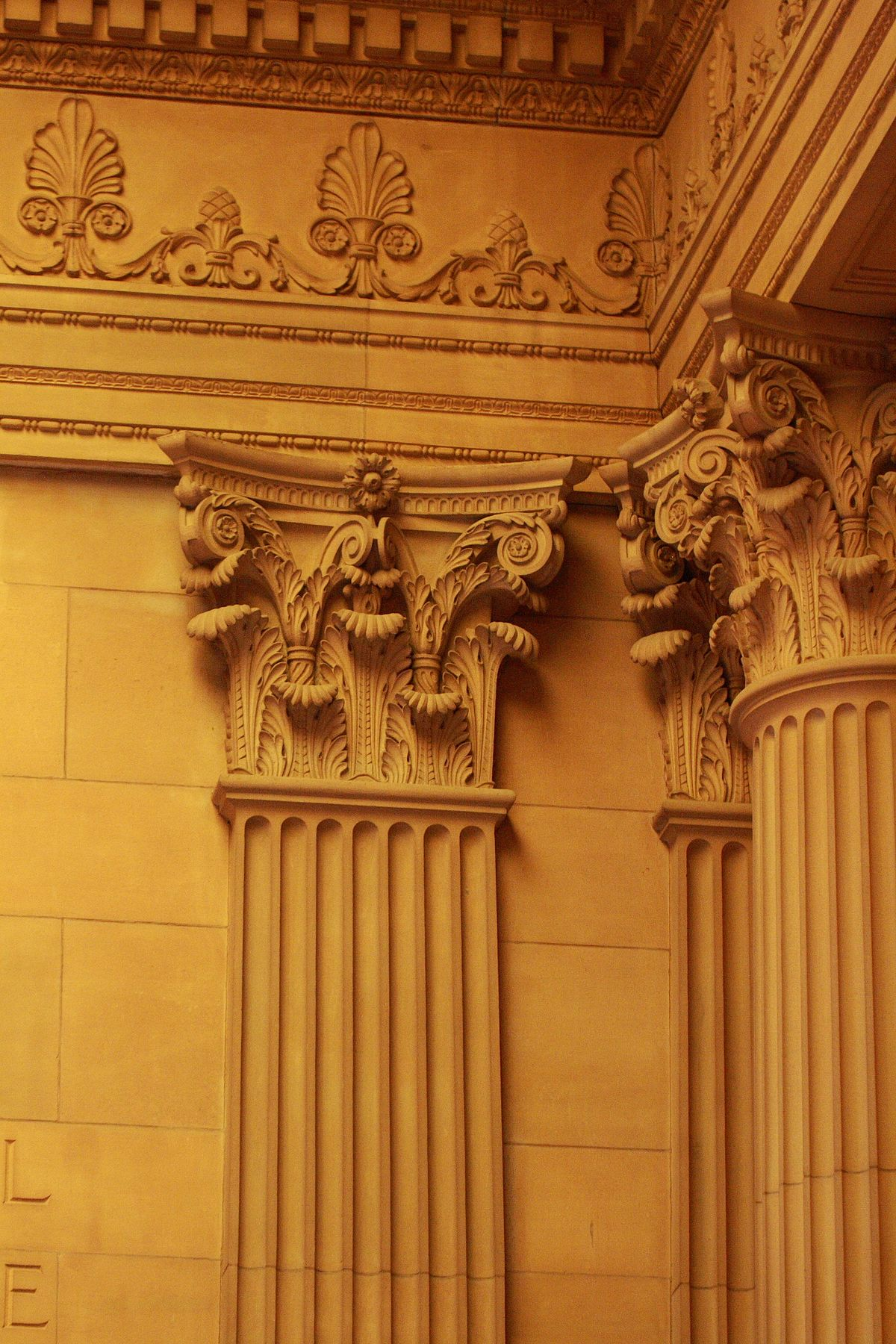 Pilaster wikipedia for Decorative structural columns