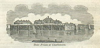 Charlestown State Prison - Charlestown State Prison in 1840