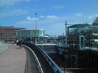 Helmond railway station - Image: Station Helmond (april 2014)