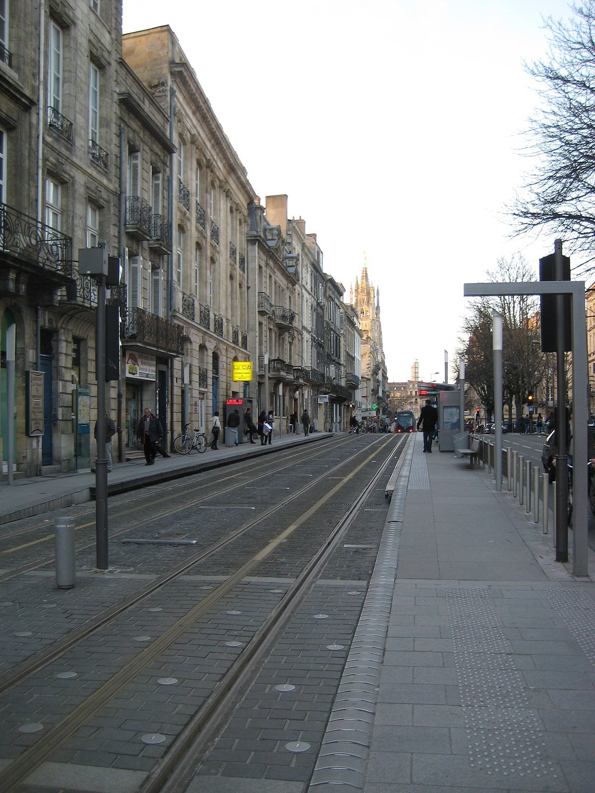 station mus e d 39 aquitaine tram de bordeaux wikipedia. Black Bedroom Furniture Sets. Home Design Ideas