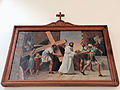 Station of the Cross in Saint Francis church in Warsaw - 05.jpg