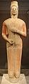 Statua funeraria femminile detta la dea di berlino, da keratea in attica, 580-560 ac ca. 01.JPG