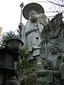 "Statue of Kukai (空海) in ""Tamagawa-Daishi"" (玉川大師), Gyokushin'in Temple (玉真院) - panoramio.jpg"