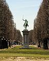 Statue of La Fayette, Paris 6 March 2015.jpg