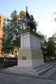 Statue of San Martin, Plaza de la Cuidadania, Santiago (5142853286).jpg