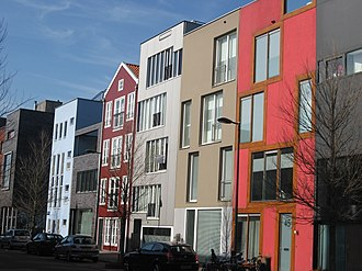 IJburg - Houses on Steigereiland