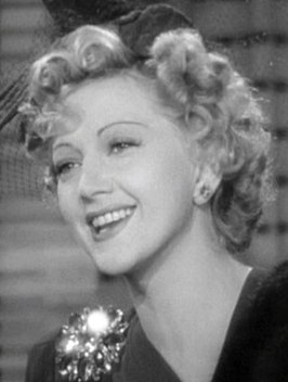 Stella Adler in de trailer van Shadow of the Thin Man (1941)