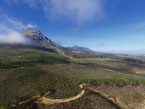 Stellenbosch Mountain - An eastern view of Stellenbosch Mountain