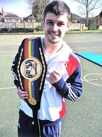 Stephen Smith (boxer) - Smith in 2011