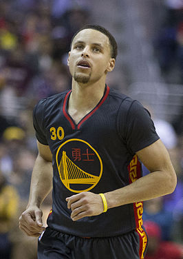 Curry bij de Warriors in 2015