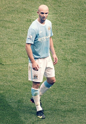 Stephen Ireland - Ireland playing for Manchester City in 2009