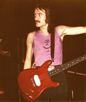 Steve Marriott - Marriott with Humble Pie during a 1972 performance