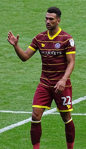 Steven Caulker - Caulker playing for Queens Park Rangers in 2016