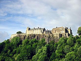 Stirling - Stirling Castle (southwest aspect)
