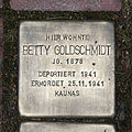Stolperstein Fichtestraße 7 Betty Goldschmidt.jpg