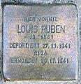 Stolperstein Joachim-Friedrich-Str 20 (Halsee) Louis Ruben.jpg