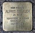 Stolperstein Klausenerplatz 2 (Charl) Alfred Strauch.jpg
