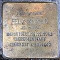 Stolperstein Pariser Str 51 (Wilmd) Felix Kaplan.jpg