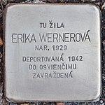 Stolperstein für Erika Wernerova (Prievidza).jpg