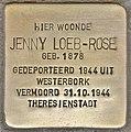 Stolperstein für Jenny Loeb-Rose (Leiden).jpg