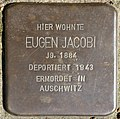 Stolpersteine Köln, Eugen Jacobi (Unkeler Straße 23).jpg