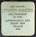Stolpersteine Köln, Leonardo Aramesco (Weißhausstraße 25).jpg