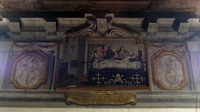 File storie di s m maddalena de 39 pazzi 1669 1670 ca 08 agostino melissi santa sul letto di - Storie di letto ...