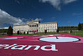 Stormont Parliament Buildings during Giro d'Italia, May 2014(7).jpg