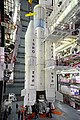 Strap-on motors of GSLV-F05 being integrated with the core stage.jpg