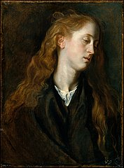 Study Head of a Young Woman