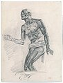"""Study of a Male Nude Study for """"The Death of Seneca"""" MET DT3272.jpg"""