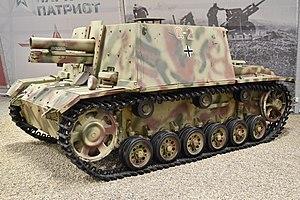 Sturm-Infanteriegeschütz 33B - sIG 33B in Kubinka