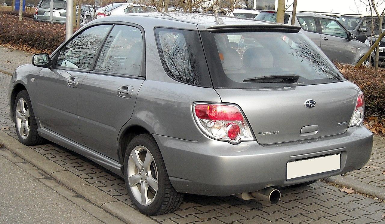 Subaru Impreza 2 универсал