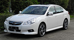 Subaru Legacy V sedan przed liftingiem