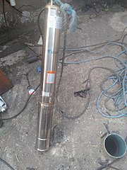 Well-bore submersible pump