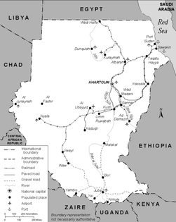 Sudan 1991 transportation map.png