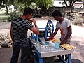Sugarcane Juice Vending - Dhobi Ghat Area - Barrackpore Cantonment - North 24 Parganas 2012-05-27 01242.jpg
