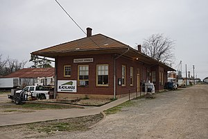Blacklands Railroad - The Blacklands Railroad headquarters in Sulphur Springs, Texas