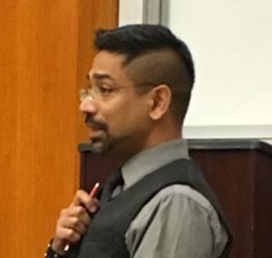 Sumit Baudh - Image: Sumit Baudh at UC Berkeley, April 11, 2016