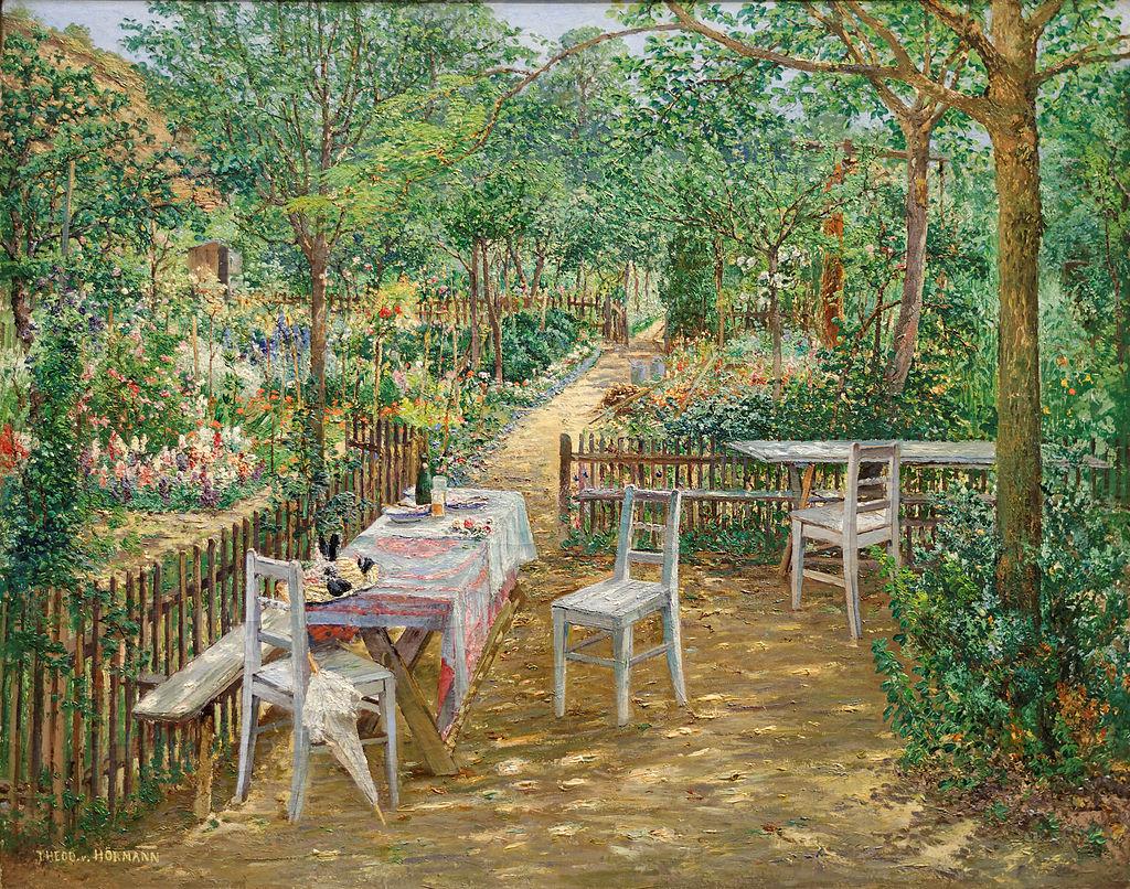Лето в саду Теодора фон Hörmann.jpg