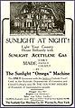 Sunlight at Night Omega Gas Machine 1907.jpg