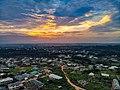 Sunset in developing Araromi in Sagamu Ogun State.jpg