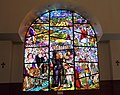 Surp Garabed Armenian Church, Hollywood - stained glass.JPG