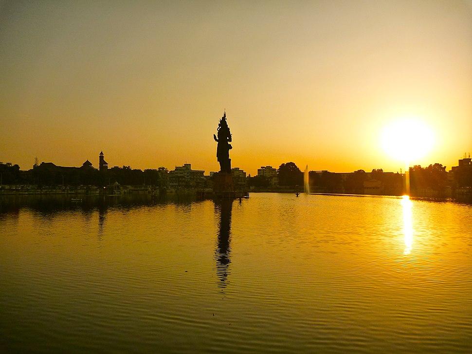 Sursagar Lake in Vadodara